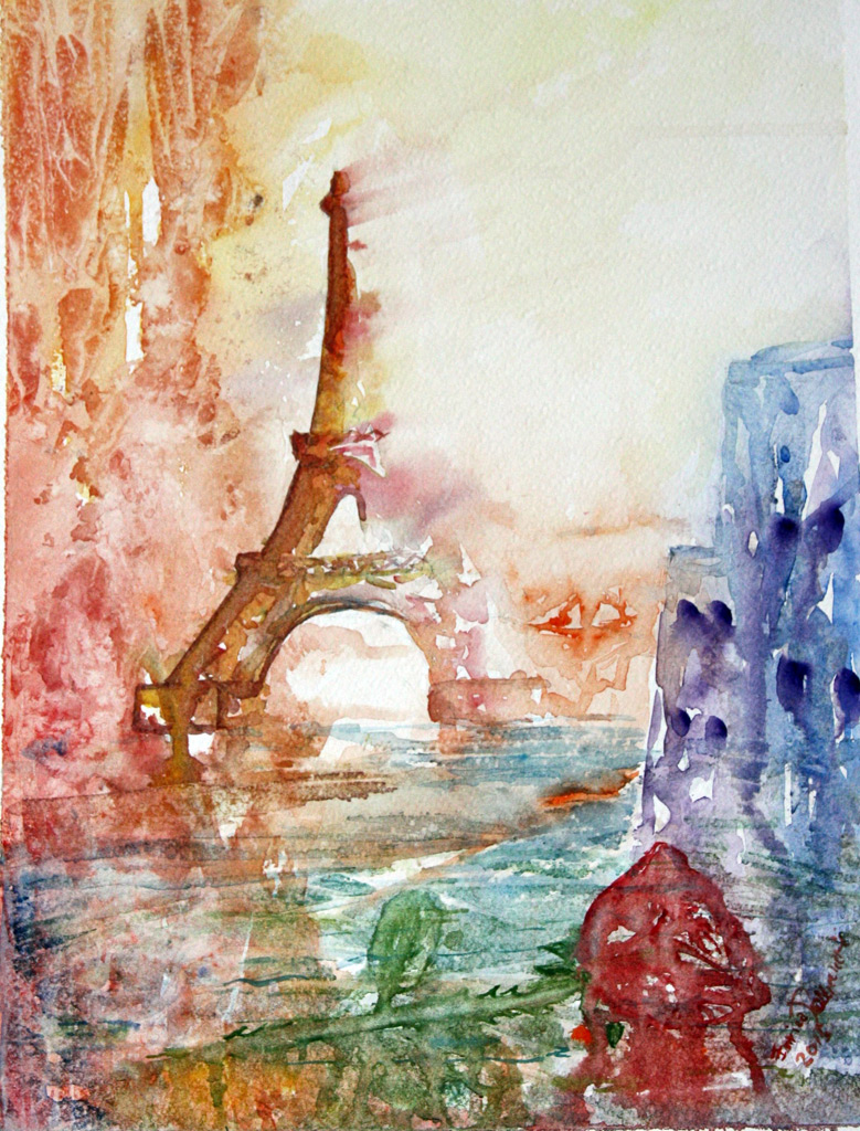 In memoria di... Parigi 2015 13 Novembre 39x28 - 2015