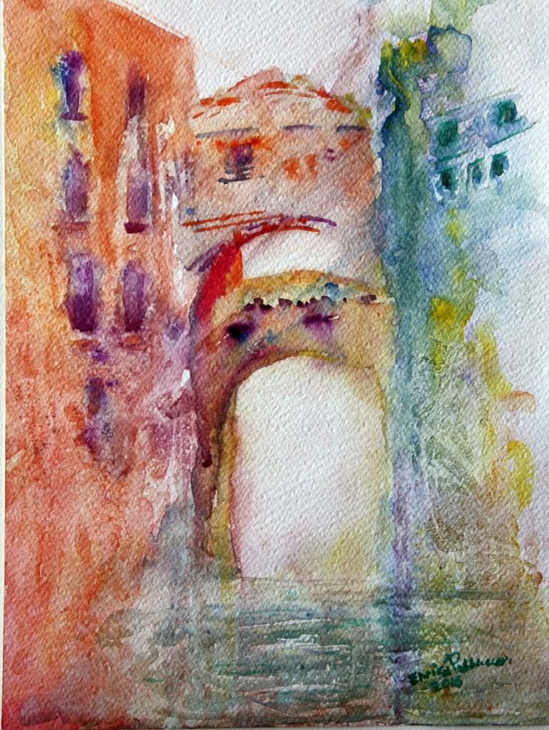 Ponte dei Sospiri Aquerello 23x30.5 - 2015