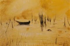 In golena olio su tela 40x30 - 1997