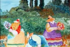 La Primavera olio su tela 40x40 - 2011