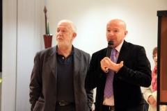 Prof. Sergio Garbato e Dott. Marco Bottoni presentano la Personale di Castelmassa - 2008