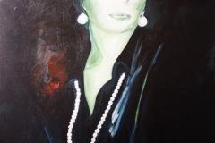 En Rouge olio su tela 50x40 - 2010