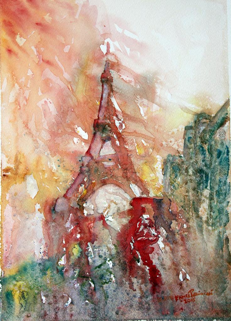 In Memoria di... Parigi 13 Novembre 39x28 - 2015