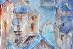 Nevicata Acquerello 35 x 52 - 2016