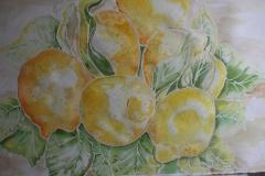 Limoni gialli Acquerello 55x40 - 2010
