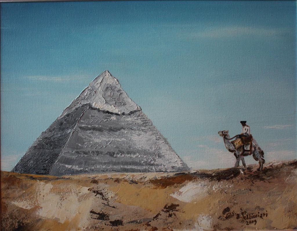 Giza olio su tela 45x35 - 2009