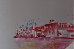 Mykonos - old Venice olio su tela 50x60 - 2008