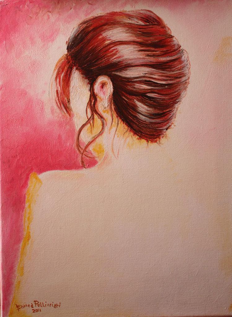 Autoritratto olio su tela 40x30 - 2011