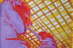 Il Filosofo olio su tela 40x30 - 2008