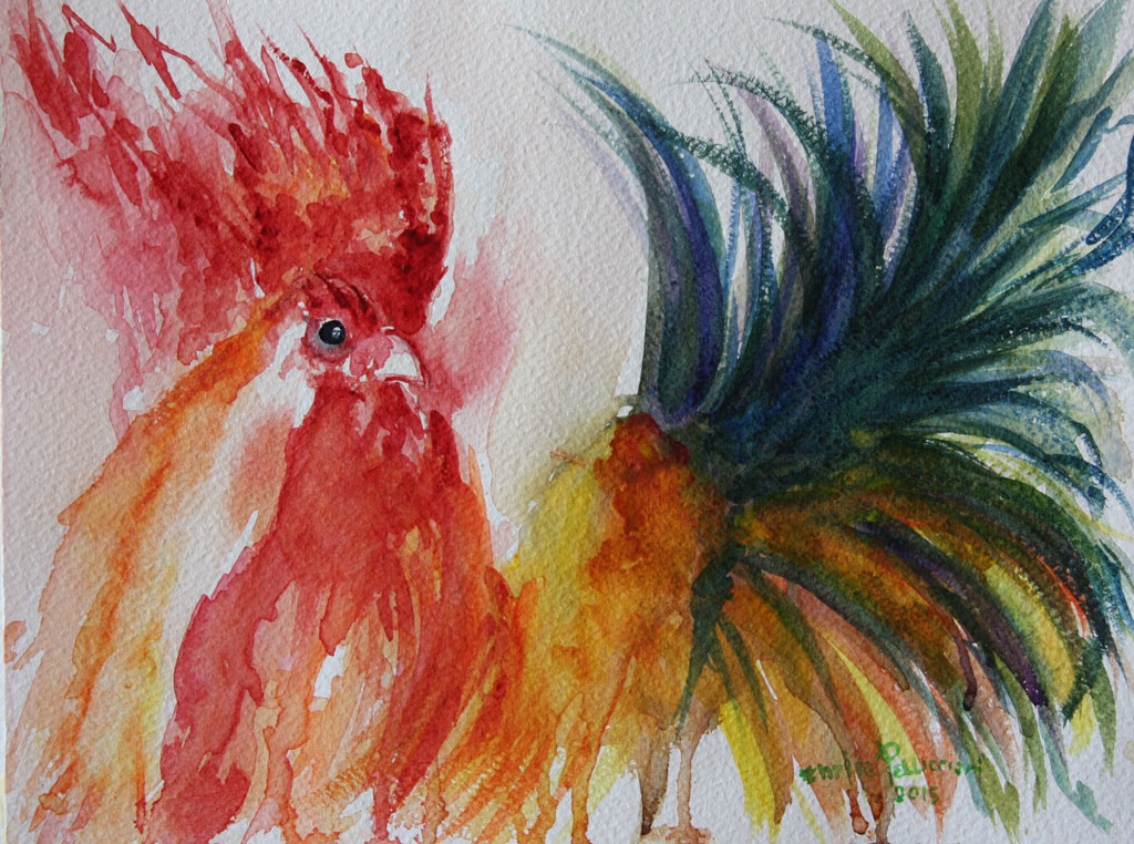 Gallo-4-Acquerello-24x32-2015
